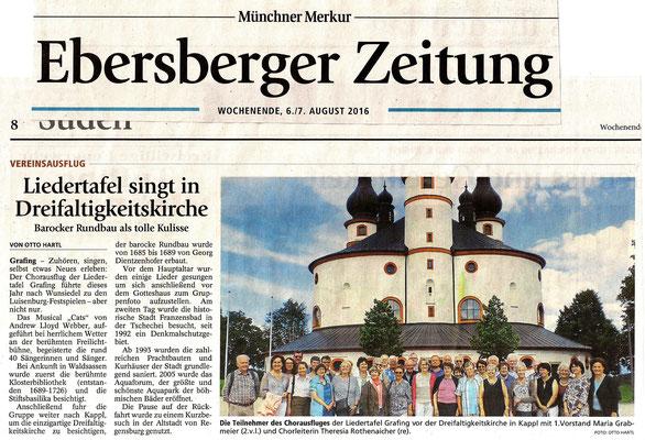 EZ 06.08.2016 – LTG-Chorausflug nach Wunsiedel zu den Luisenburg-Festspielen