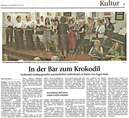 EZ 13.07.2013 – LTG-Sommerkonzert