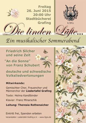 """""""Die Linden Lüfte"""" LTG-Sommerkonzert 2015"""