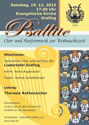 """""""Psallite"""" LTG-Weihnachtskonzert 2015"""