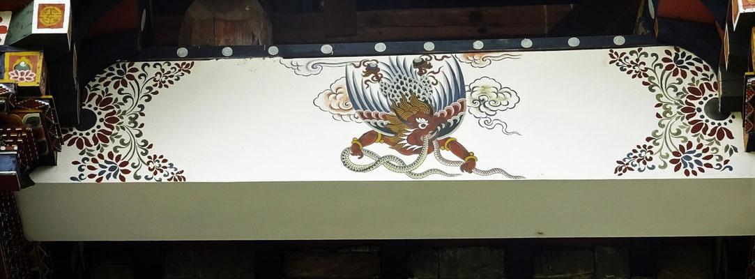 ..und der Garuda. Die 4 heiligen Tiere.