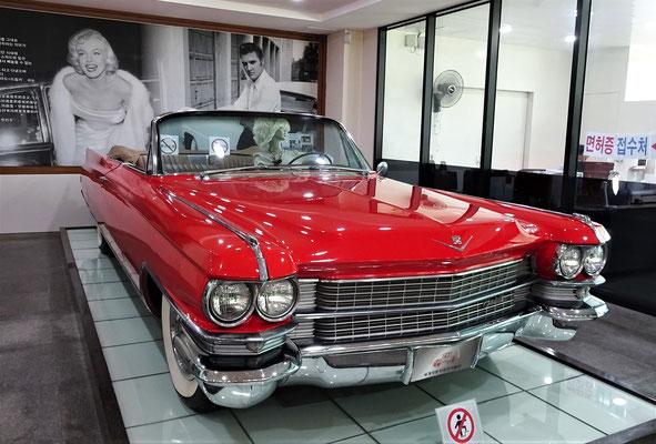 Das fuhr auch Elvis.