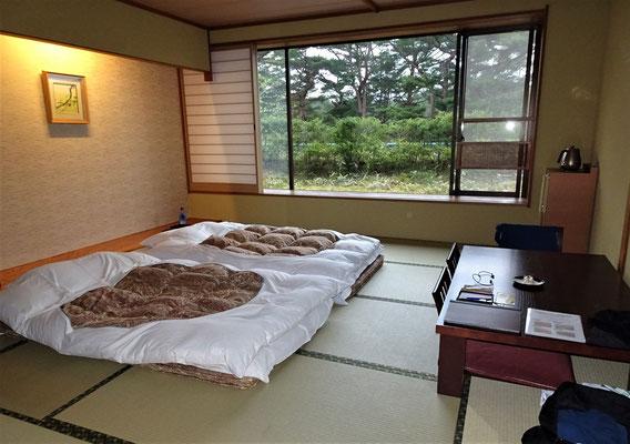 Das Jodogahama Park Hotel im Japanischen Stil in Miyako.