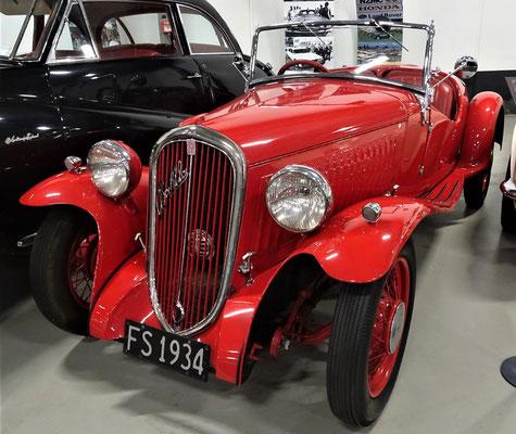 Der Fiat Balilla.....