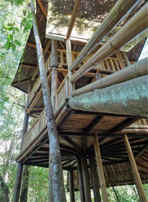 Ein Bambusturm.....