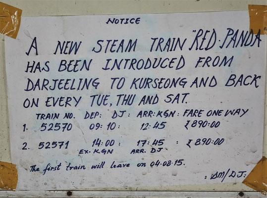 Diesen Zug wollten wir nehmen