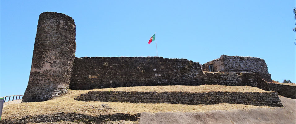 Das Castelo Aljezur......