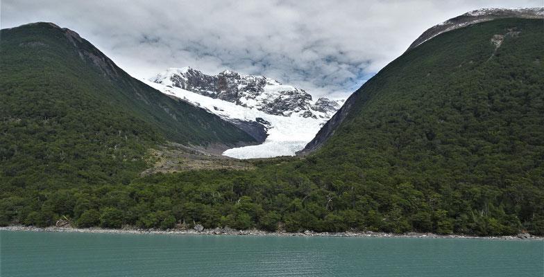 Der erste Gletscher der.......