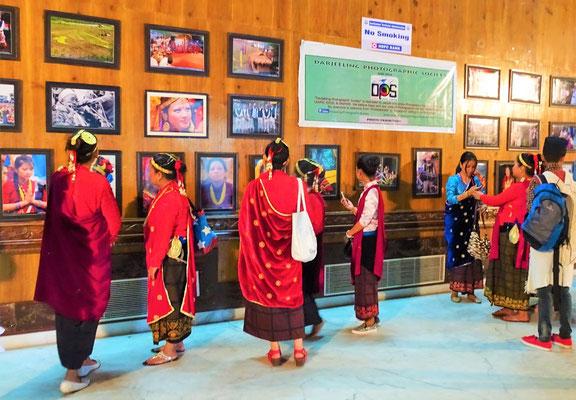 Fotoausstellung im Eingangsbereich