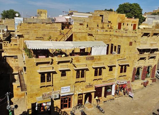 Die Kila Bhawan Lodge in Jaisalmer...