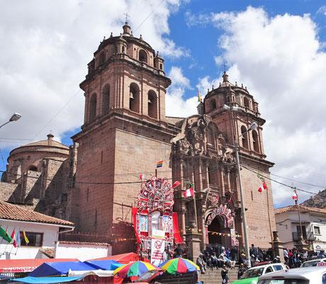 Die San Pedro Kirche.