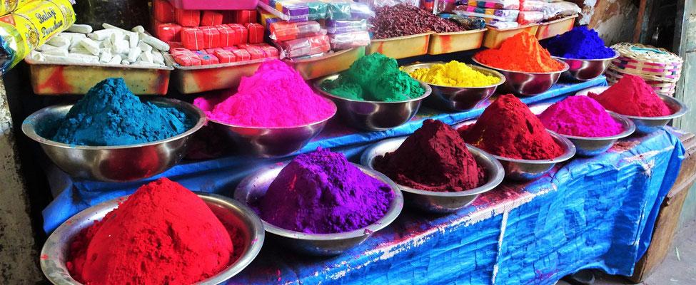 Das sind Farbpulver.