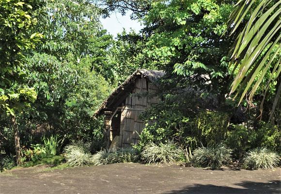 Das erste Haus ist sichtbar.....