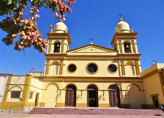 Die renovierte Kirche....