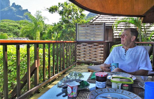Frühstück am nächsten Morgen.......