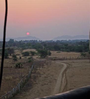 Der Sonnenaufgang von einer....
