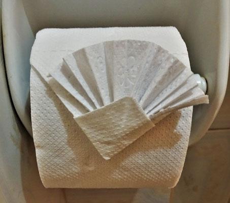 ......sogar beim WC Papier.
