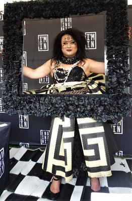 Auch eine Drag-Queen zeigte sich.