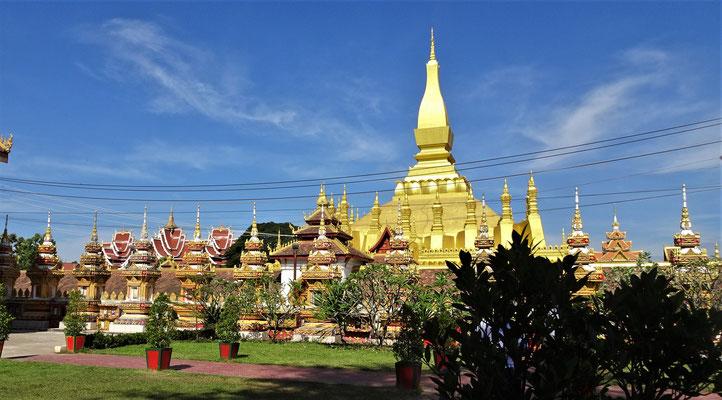 Der Phra That Luang.....