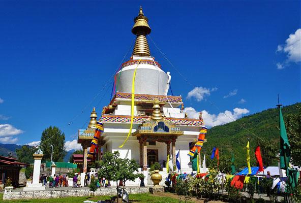 Der Stupa des 3. Königs...