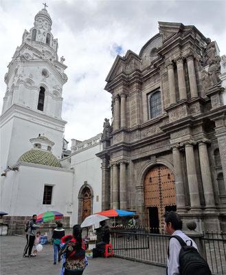 Die Iglesia Sagrario neben der Kathedrale.
