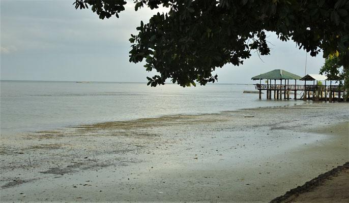 """Der """"Strand"""" bei Ebbe....."""