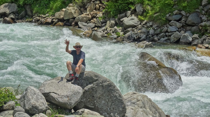 ...Chenap Fluss....