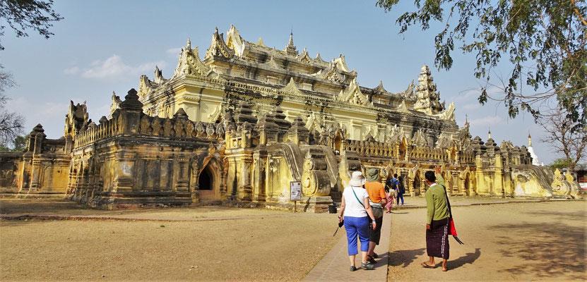 Das Mahar Aung Mye Bon San Kloster.....