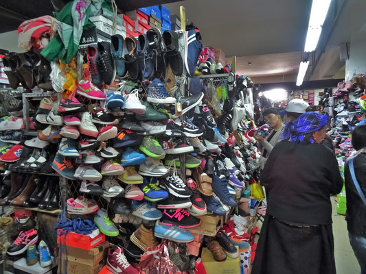oder einigen Schuhen