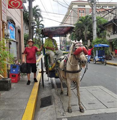 Unser Gefährt für die Tour durch Intramuros.