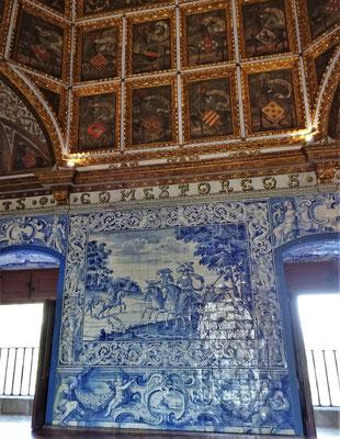 Der Wappensaal.