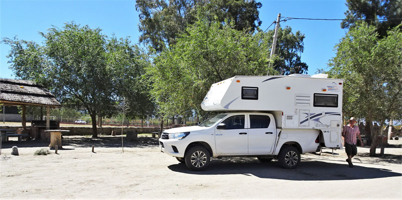 Der Campingplatz Luzy Fuerza....