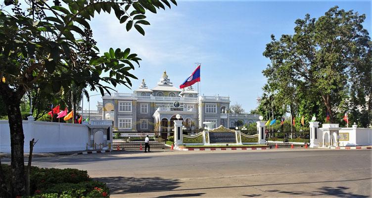 Der Präsidenten Palast, in der Nähe unseres Hotels.