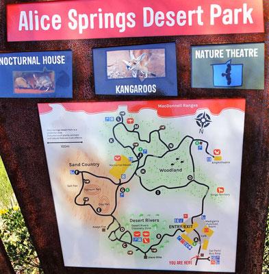 Der Alice Springs Dessert Park.