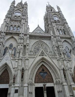 Die Basilica wurde 1924 fertiggestellt.