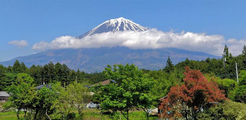 Der Fuji von der anderen Seite.