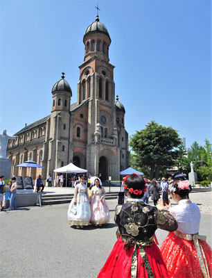 Die Jeondong Kirche in Jeonju.....