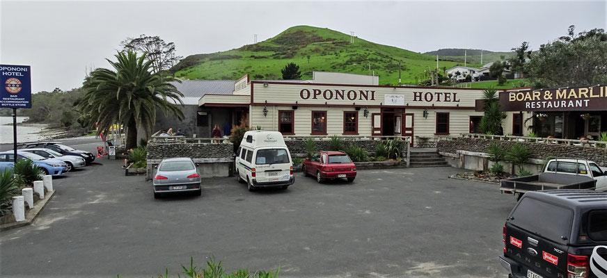 Das Opononi Hotel in Opononi......