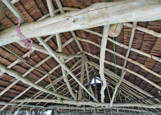 Die Dachkonstruktion.....