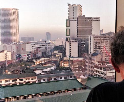 Der Blick über Chinatown.....