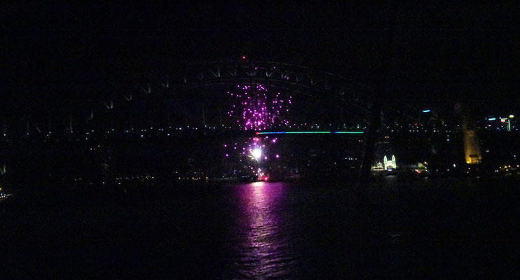 Das überraschende Feuerwerk......