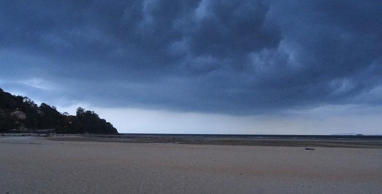 Gewitterwolken über dem...