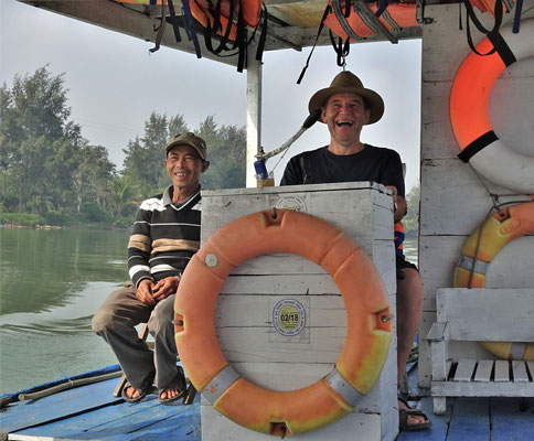 Bootsausflug mit Kapitän Ugo.......