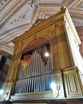 Die Orgel mit 2'000 Pfeifen.