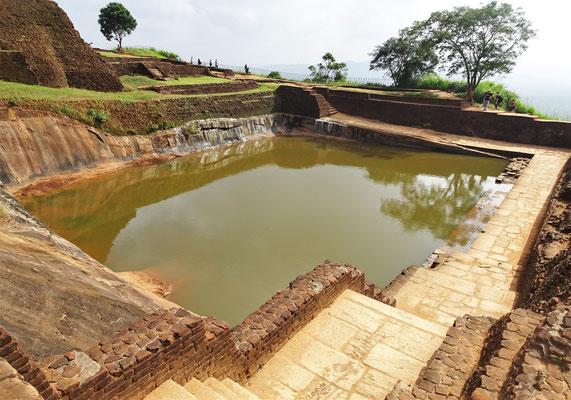 Das grosse Wasserreservoir.