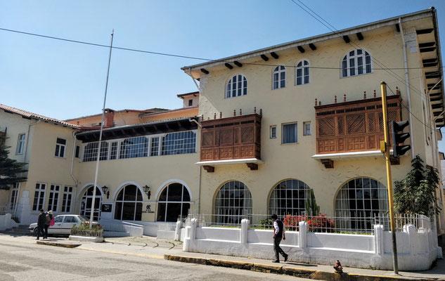 Das Tourismo Hotel in Huancayo.