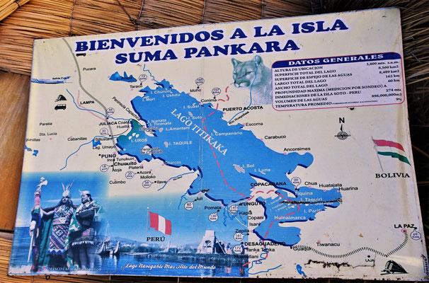 Wir besichtigten die Insel Suma Pankara.
