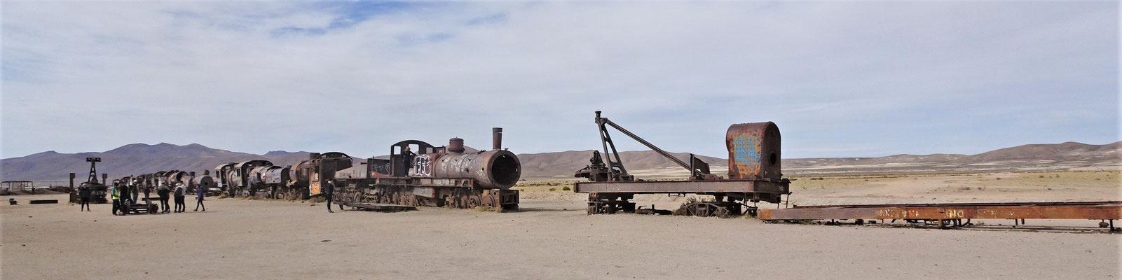 ......den alten Dampfloks.