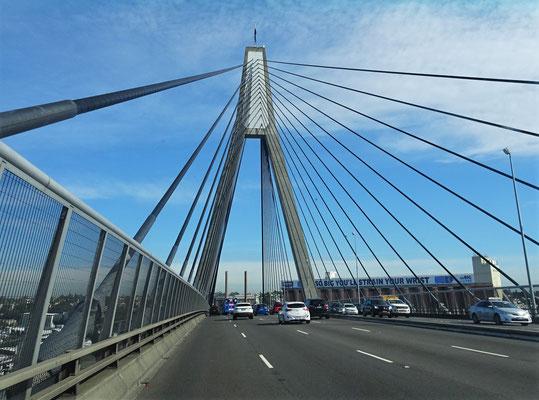 Wir verlassen Sydney....