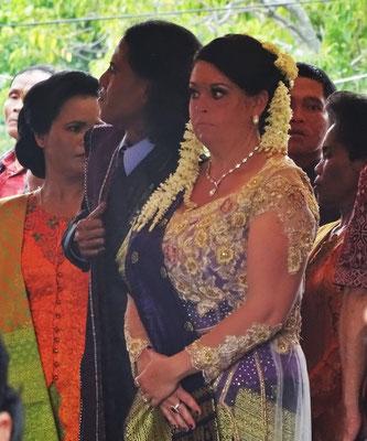 Das Brautpaar (Australisch-Indonesisch)...